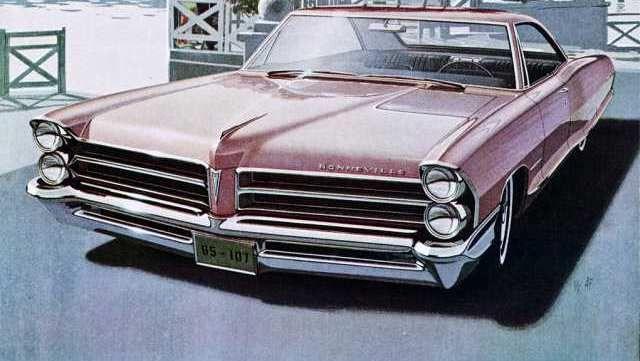 65 Bonneville Drawing Bonneville Pontiac Bonneville Pontiac