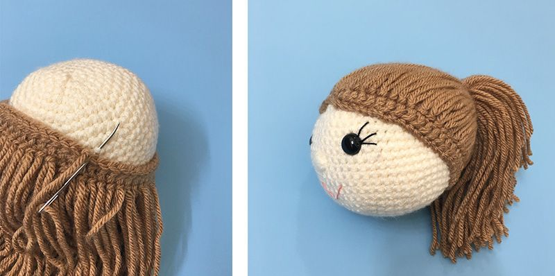 Amy the Amigurumi Doll - A Free Crochet Pattern | Toys to make ...
