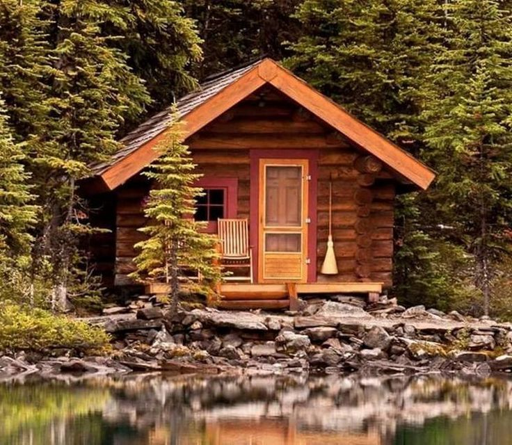 9 Ideas For Small Homes Cabins: All I Need Is A Little Cabin In The Woods (19 Photos