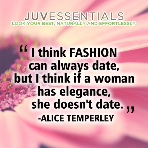 True class, elegance, and fashion NEVER age or go out of style!