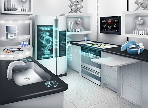 The Kitchen the kitchen of the future: food + cooking : gourmet | life in