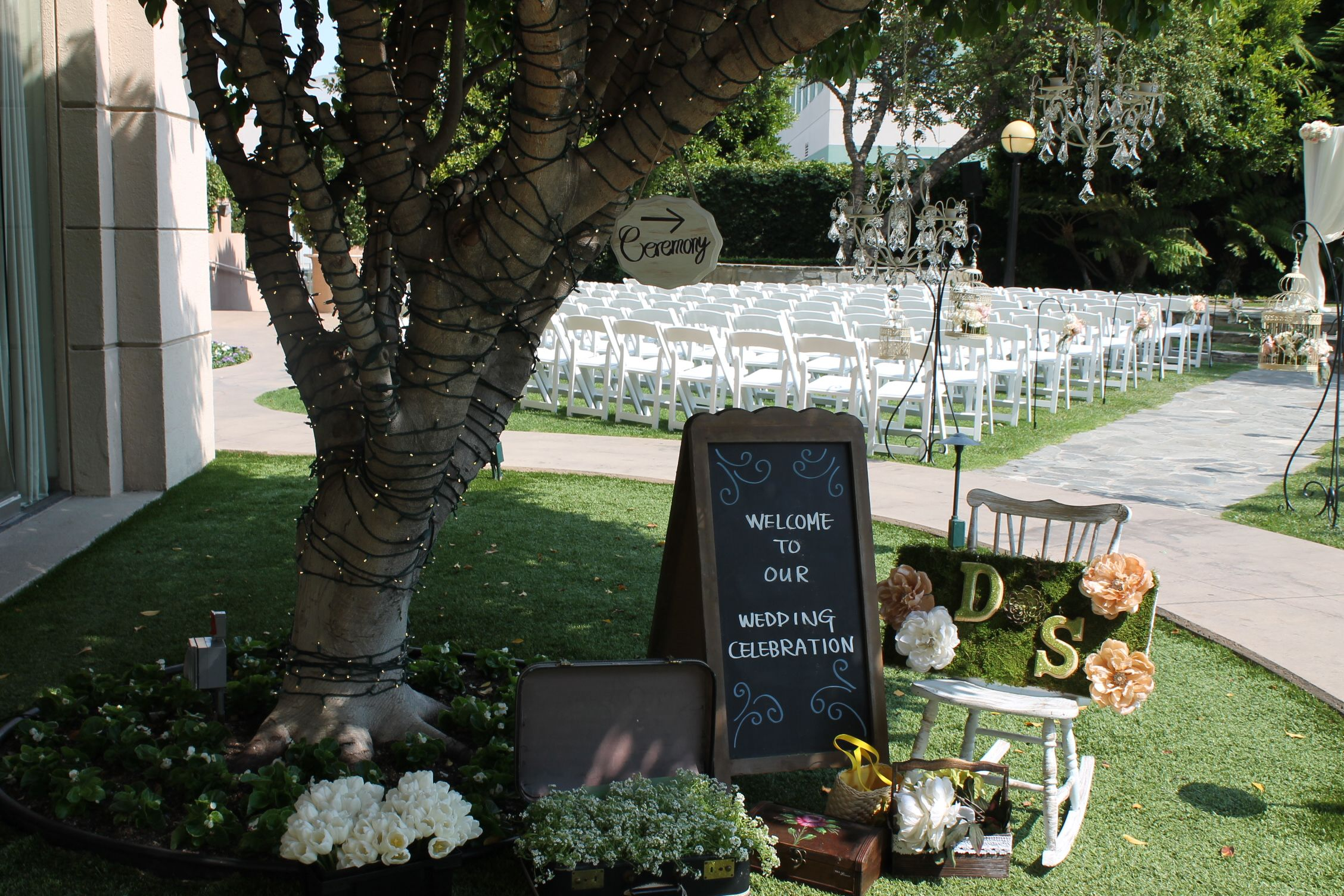 Wedding at our garden InterContinental Los Angeles