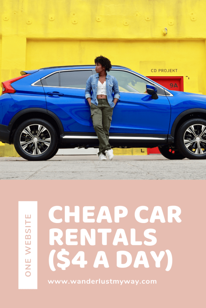 Cheap Car Rentals How To Find Them Using One Website Wanderlust My Way Cheap Car Rental Car Rental Car Rental Website