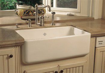 I Love This White Cast Iron Apron Front Sink But It S Probably A Long Shot Considering Its Price Apron Sink Kitchen