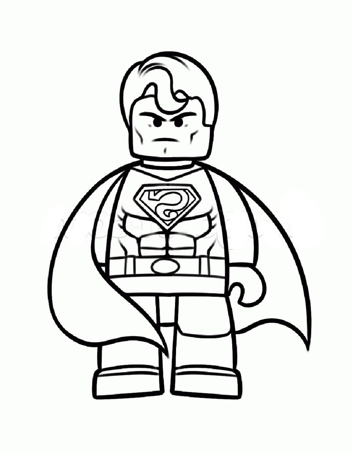 lego coloring pages for kids printable