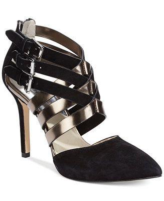 MICHAEL Michael Kors Cammie Back Zip Shooties - Designer Shoe Shop - Shoes - Macy's