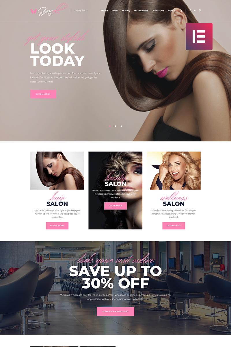 Pin on WordPress Health \u0026 Beauty Themes