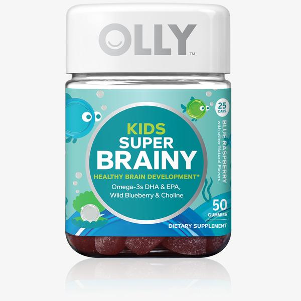 Kids Super Brainy Raspberry Vitamins Vitamins For Kids Olly