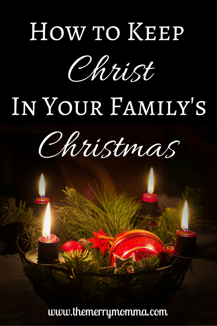 has christmas become more about presents and festivity than christ read about 7 strategies i plan to take to keep christ in christmas at our house - When Did Christmas Become A Holiday