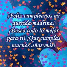 07f8d835e0 Tarjetas de feliz cumpleaños para mi madrina