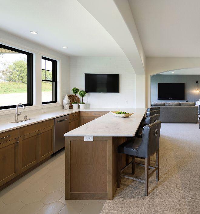 white oak bar white oak cabinets basement bar with white on basement bar paint colors id=82565