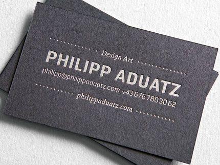 Via typejockeys r e b e l l e s pinterest business cards business cards for artist philipp aduatz colourmoves