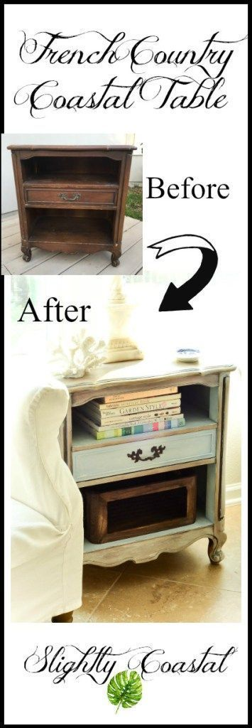 A shabby chic French country makeover with chalk paint A shabby chic French country makeover with chalk paint