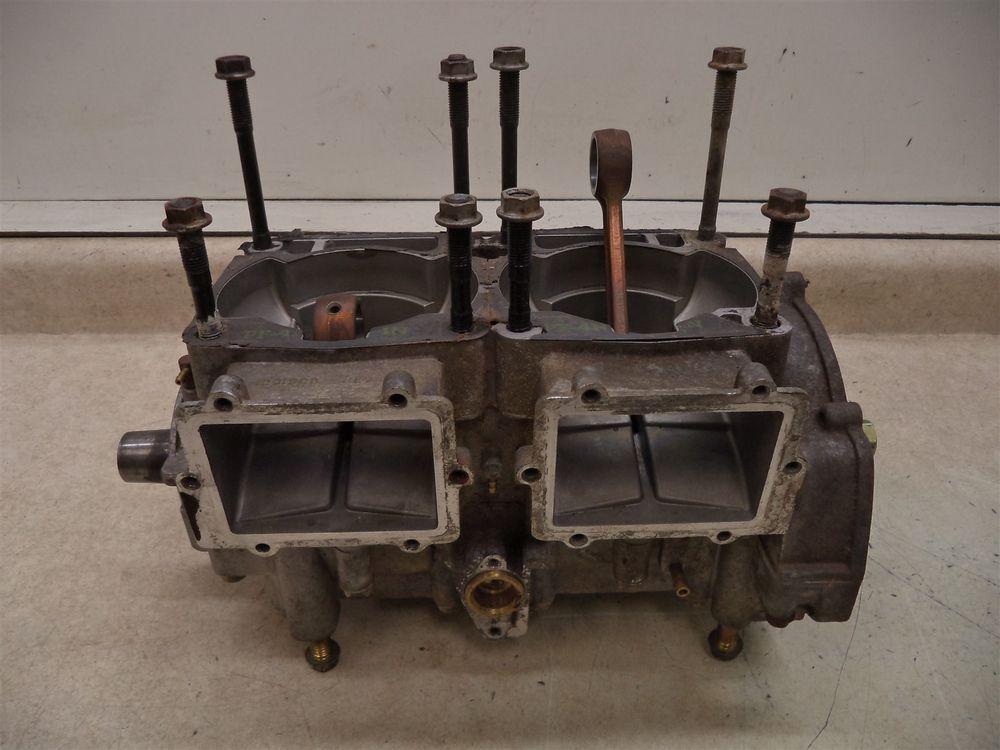 2000 Polaris 500 Xc Sp Gen Ii Chassis Crankcase W Crankshaft Bottom