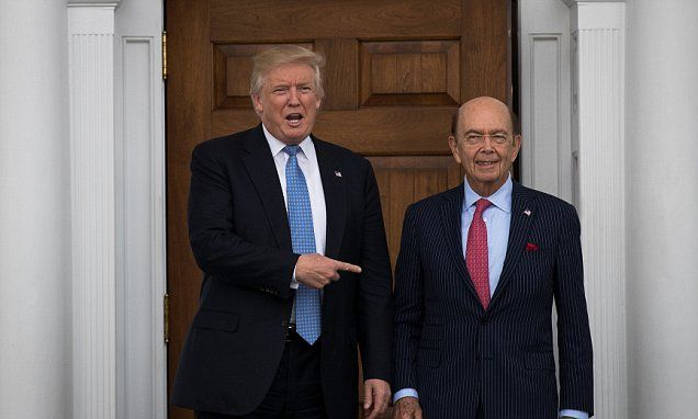 Trump's Commerce pick Wilbur Ross acknowledges getting DUI in Hamptons in 1991   Daily Mail Online
