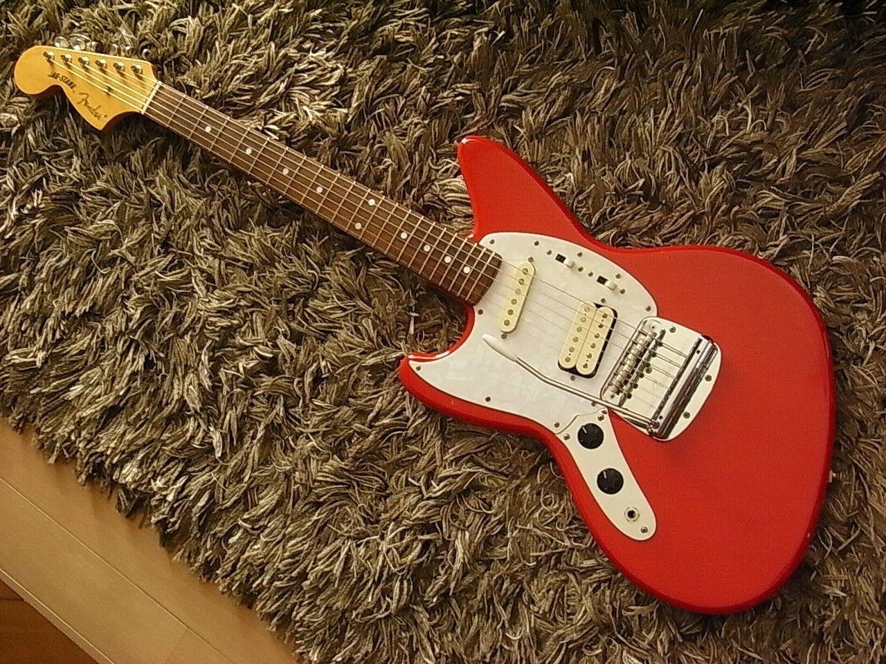 1996 Fender Japan Jag Stang Lefty Left Hand Kurt Cobain Nirvana