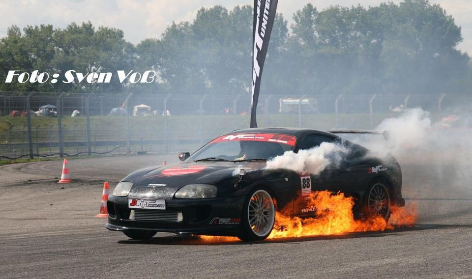 Captivating Supra On Fire ≳✦✩↬