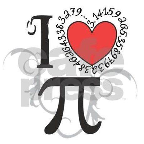 I Heart Pi Tile Coaster Pinterest Math