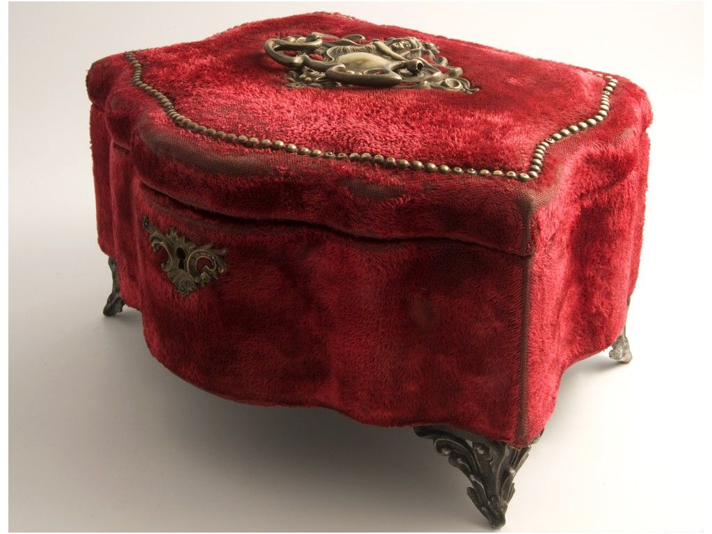 Antique Napoleon III jewelry box Napoleon and Box