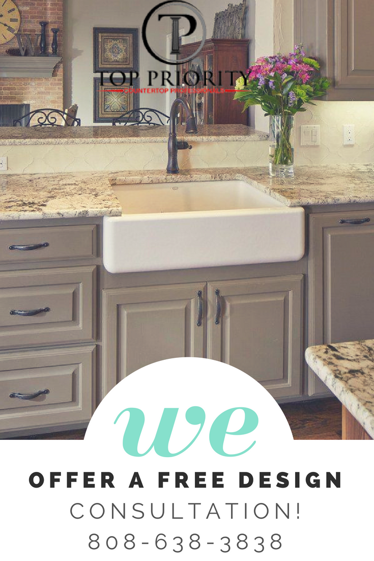Pin By Top Priority Countertops Hawaii On Kitchen Granite Countertop Hawaii  | Pinterest | Countertops, Countertop And Kitchens