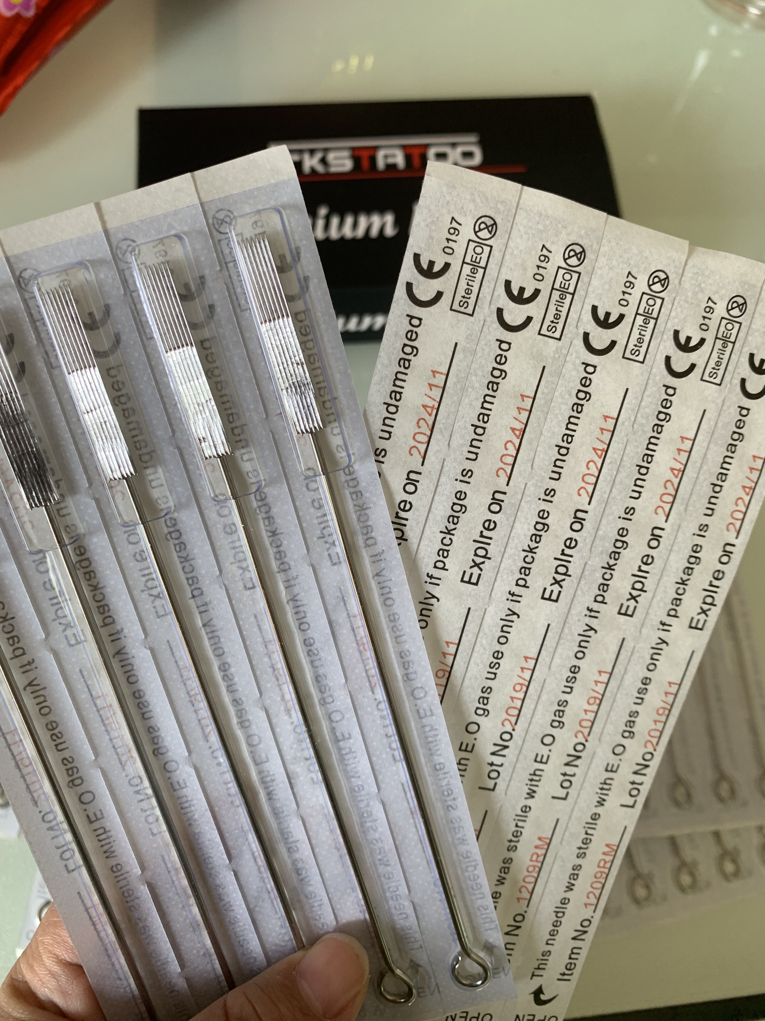 Premium Tattoo Needles On High Quality If You Are Interested In It You Can Contact Me Or Order It Or Get Sample Interesting Things Canning Tattoo Needles