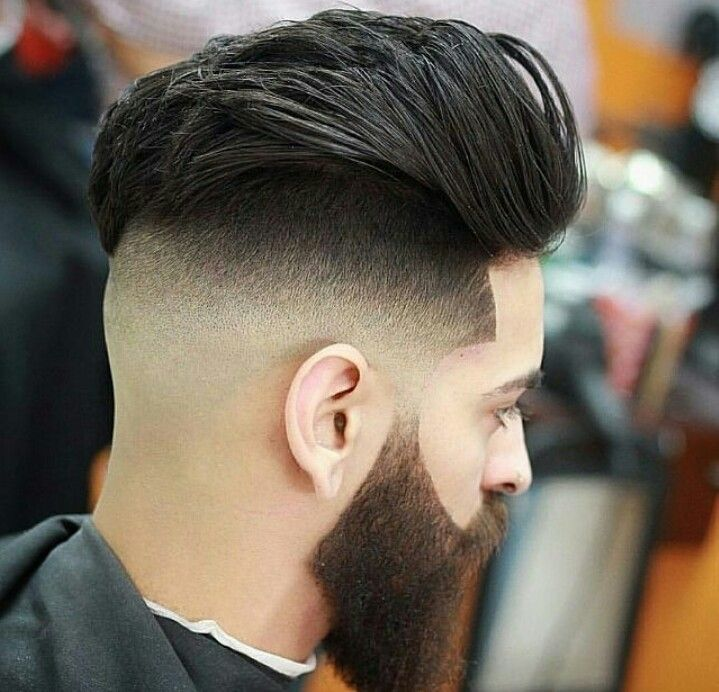 Image result for Fusing Haircut With Beard