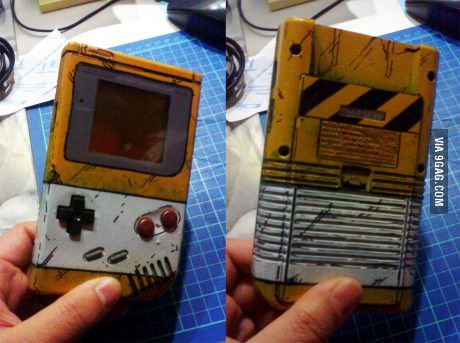 I Saw The Borderlands Custom Pc Case And Then I Found My Old Gameboy Gameboy Borderlands Custom Pc