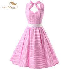 roze vintage jurk