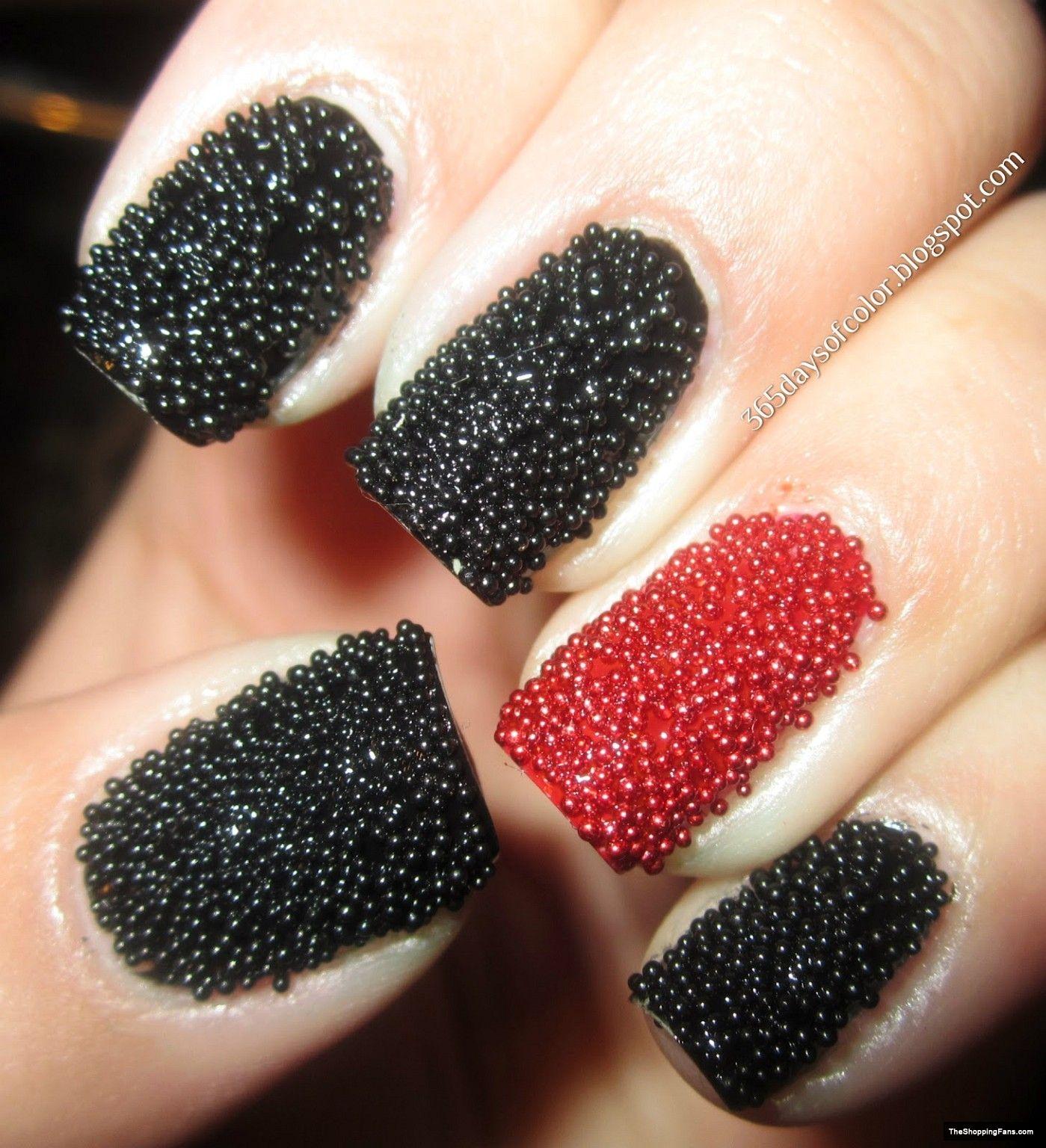 Caviar Nail Art Hair And Make Up Pinterest Caviar Nails And