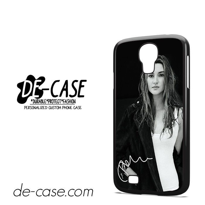 Shailene Woodley Signature DEAL-9503 Samsung Phonecase Cover For Samsung Galaxy S4 / S4 Mini