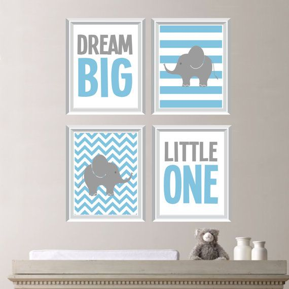 Träumen Sie Große Wenig Einen Elefanten Quad
