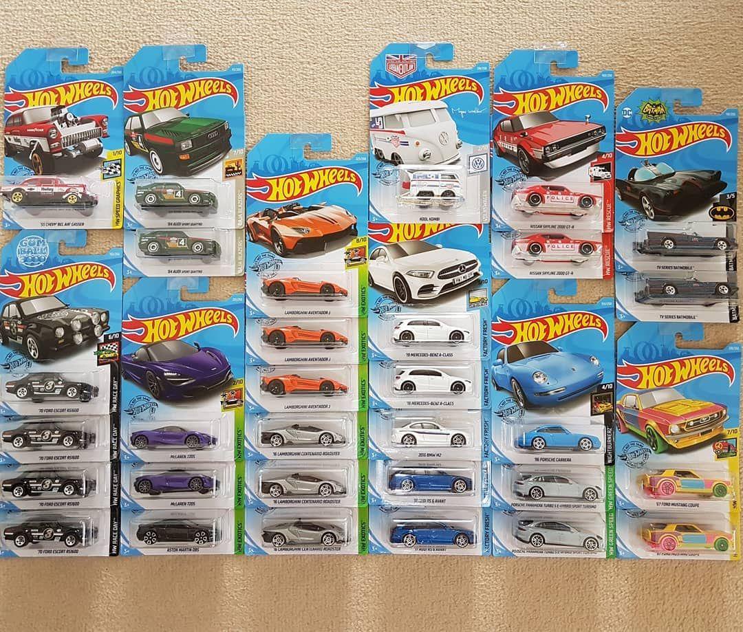 Two weeks worth of finds not too bad. . . . #hotwheels #hwhunter #hwraceteam #hwcustoms #model #supercar #toycar #boystoys #cars #hwc #hotwheelscollector #custom #sportcar #spe