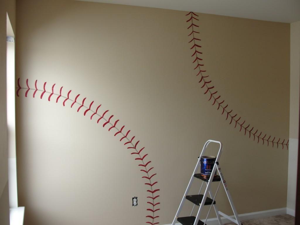 Image Result For Baseball Themed Bathroom