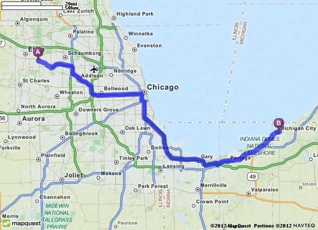Driving Directions To Blue Chip Casino Hotel Spa In Michigan
