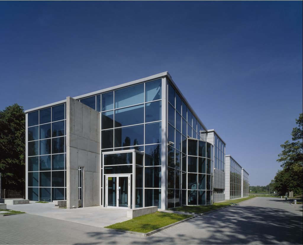 Call Center office building in Góra Kalwaria, Poland with a
