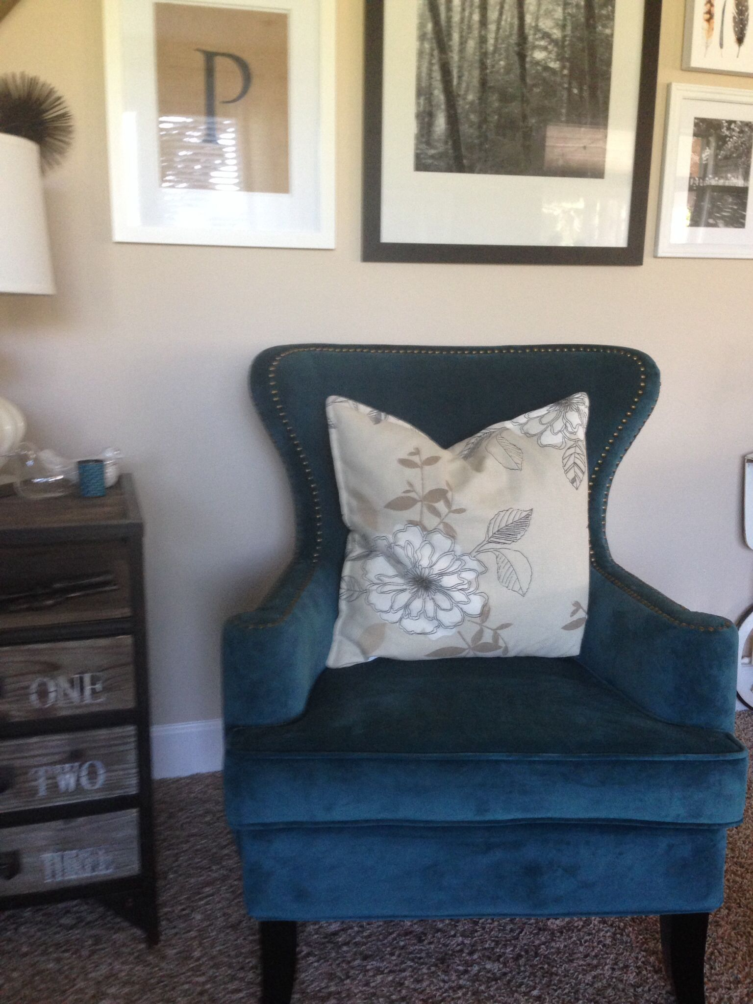 Cost Plus World Market (Elliott Wingback Chairs In Pacific Blue). A Bit More