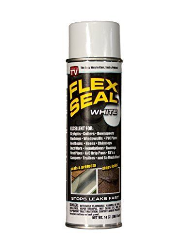 Flex Seal Colors 14ounce As Seen On Tv Liquid Rubber Sealant In A Can White Color White Model Check Out The Image By Visi Liquid Rubber Rubber Sealant Flex