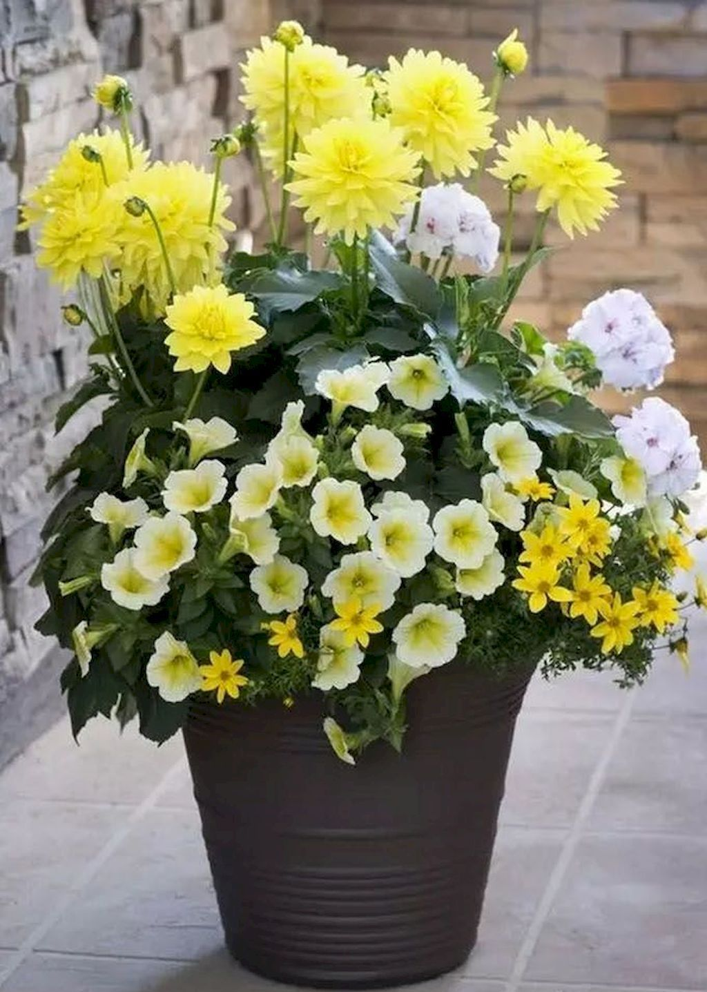 Adorable 50 Beautiful Container Garden Flowers Ideas Https Architeworks Com 50 Beautiful Co Container Gardening Flowers Garden Containers Container Gardening