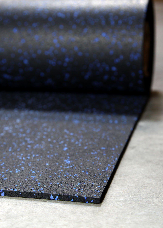 Amazon Com 1 4 Tough Rubber Roll Blue 4 X 10 Excellent Gym Floor Mats For Medium Large Equipment Gym Flooring Rubber Home Gym Flooring Gym Floor Mat