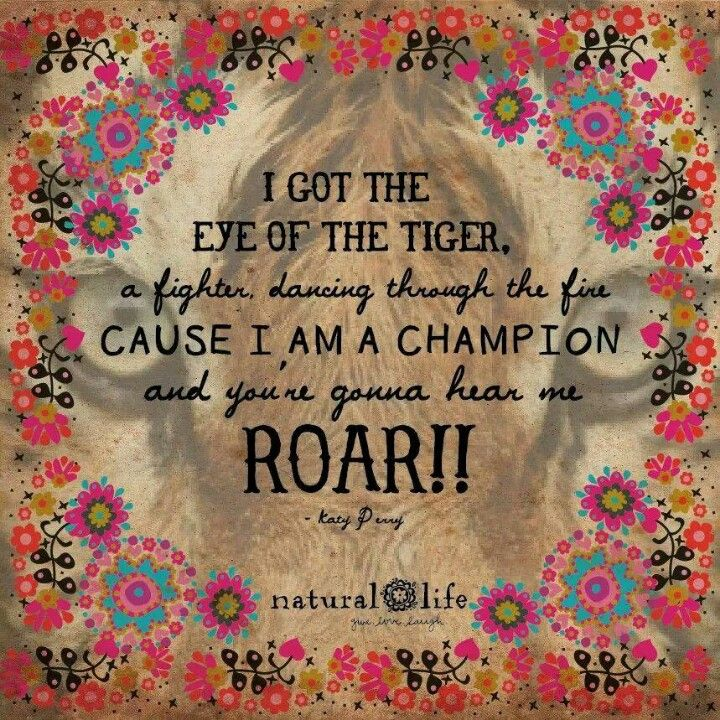 Lyric eye of the tiger katy perry lyrics : Eye of the tiger! Quotes Katy Perry | Words to live by ...