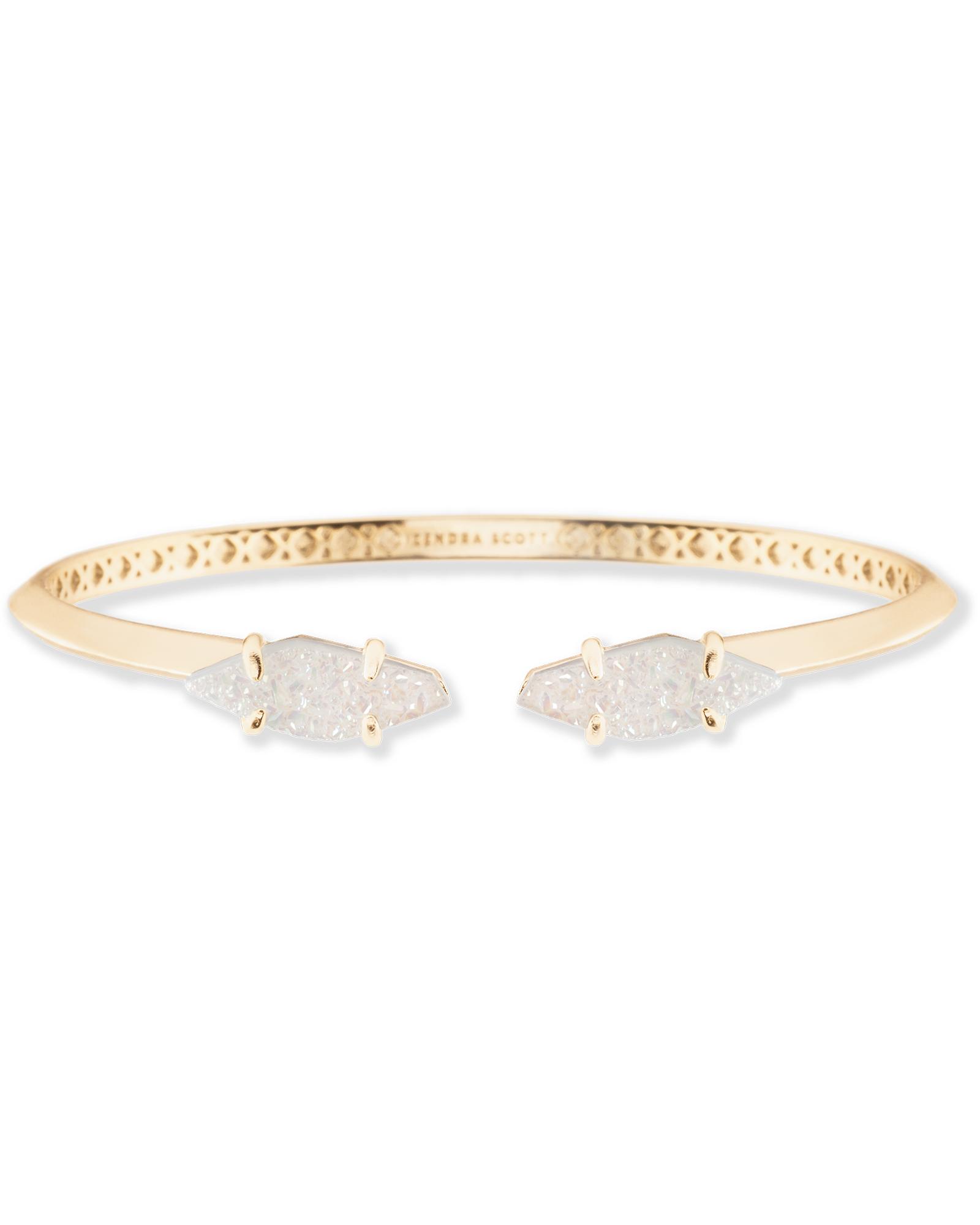 Bianca Cuff Bracelet in Iridescent Drusy - Kendra Scott Jewelry