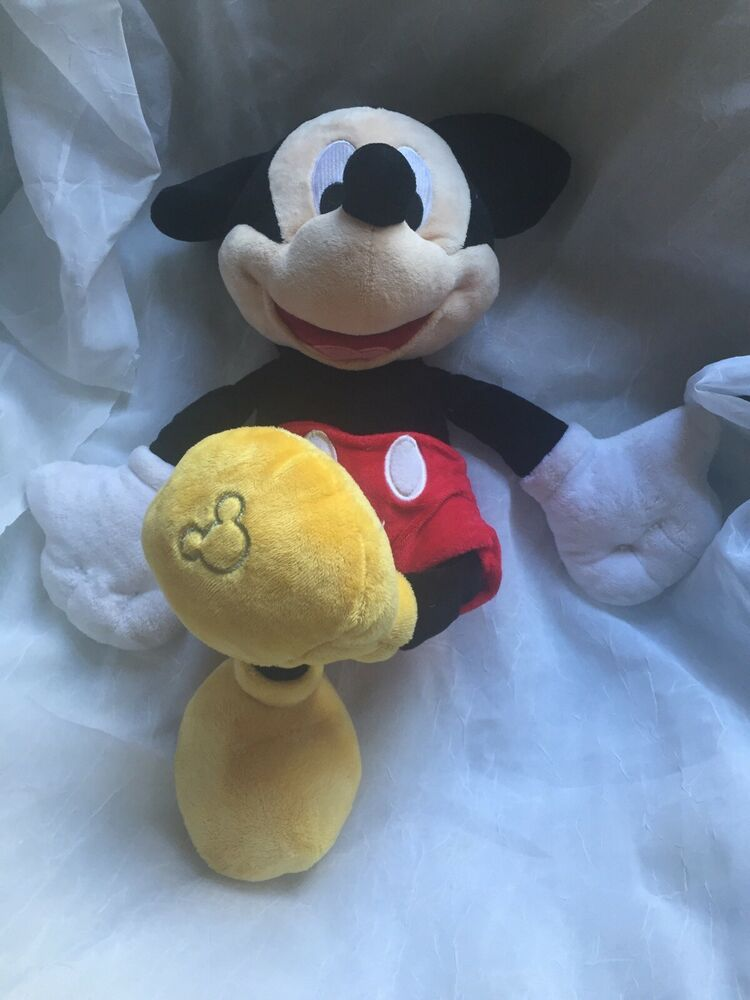 Disney Mickey Mouse Clubhouse Plush Beanz Mickey NEW TOY
