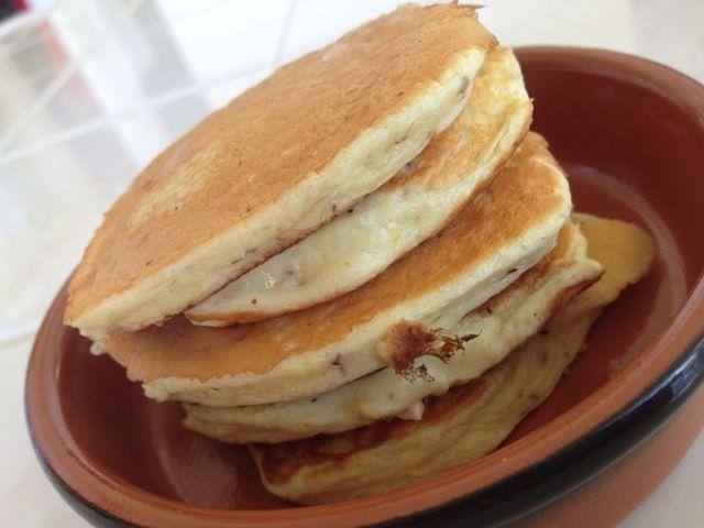 Low carb protein powder pancakes