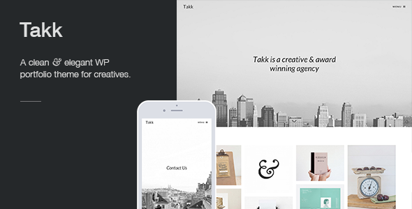 Takk a clean and responsive wordpress portfolio theme with a takk a clean and responsive wordpress portfolio theme with a fullscreen parallax background image maxwellsz