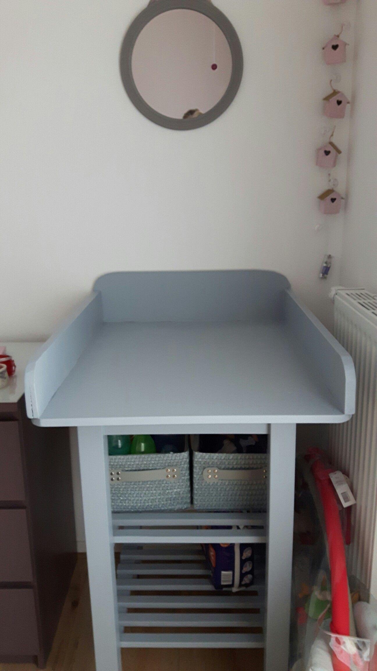 Table A Langer Diy A La Base C Etait Une Desserte Ikea