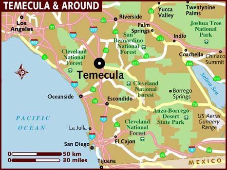 temecula ca Map of Temecula California Pinterest Lonely planet