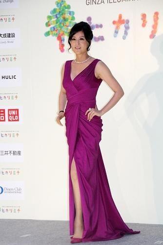 ドレスのイメージが強い藤原紀香