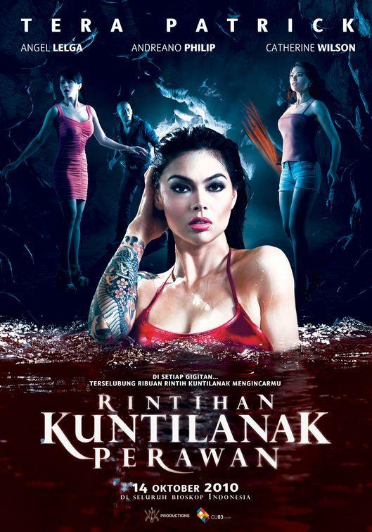 Rintihan Kuntilanak Perawan Patrick Movie Tera Patrick Horror Movies Movie Posters Film
