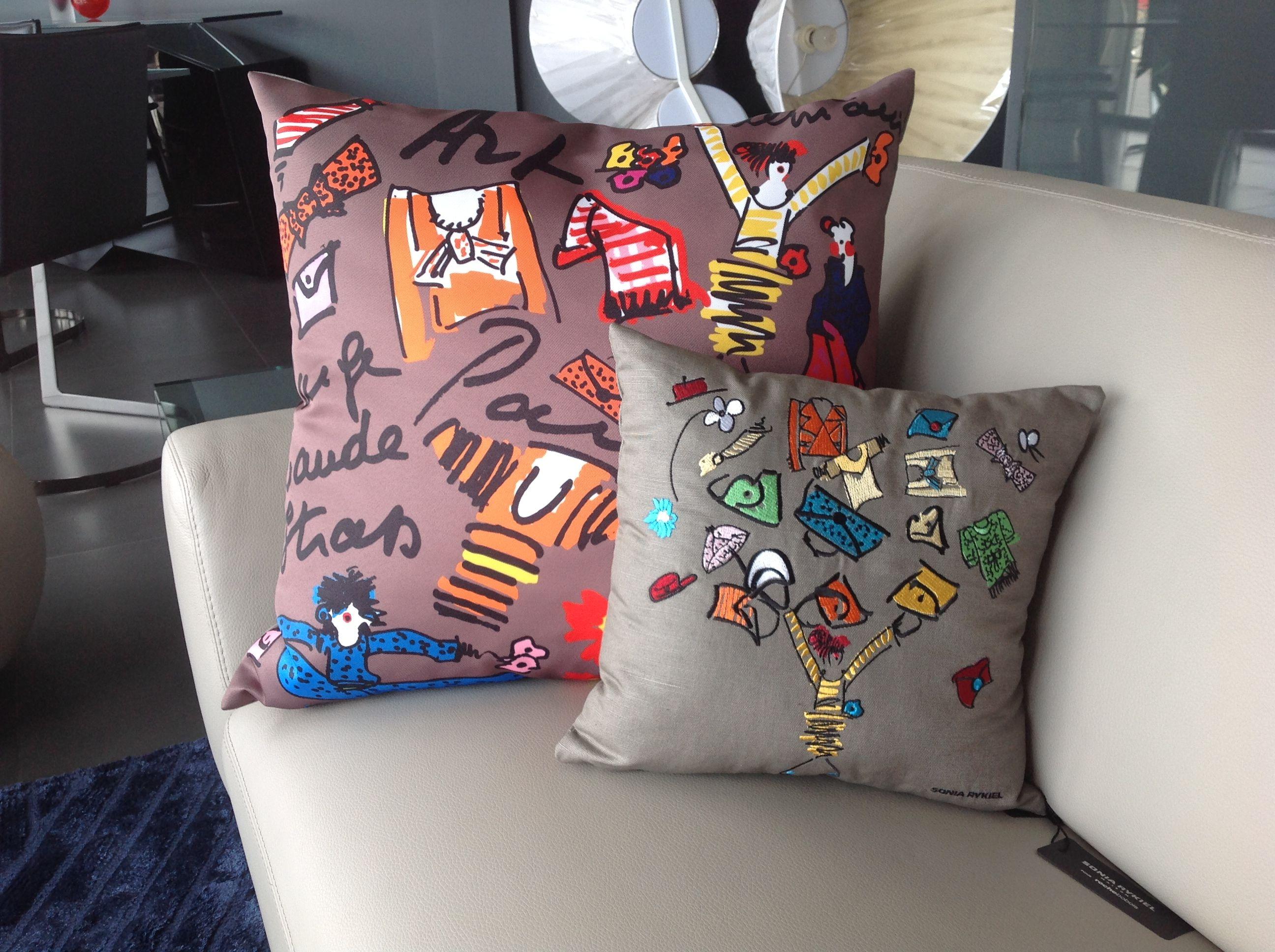 Coussins Sonia Rykiel Mobilier De Salon Canape Design Decoration