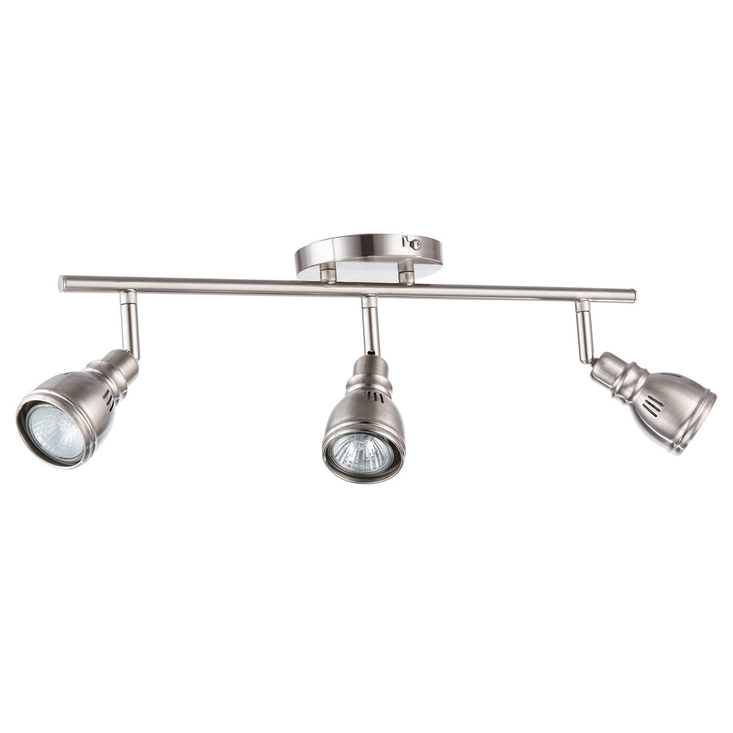 amazon track lighting. Merax 3 Light Track Lighting Wall Or Ceiling Fixture, Brushed Nickel. Adjustable Swivel Amazon R